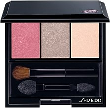 Düfte, Parfümerie und Kosmetik Lidschatten - Shiseido Luminizing Satin Eye Color Trio