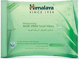 Düfte, Parfümerie und Kosmetik Gesichtsreinigungstücher mit Aloe Vera 25 St. - Himalaya Moisturizing Aloe Vera Facial Wipes