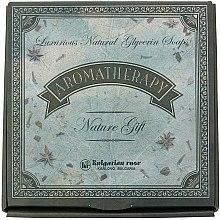 Düfte, Parfümerie und Kosmetik Geschenkset Aromatherapie aus 6 Glycerinseifen - Bulgarian Rose Aromatherapy Nature Soap