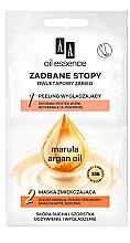 Düfte, Parfümerie und Kosmetik Fußmaske mit Arganöl - AA Oil Essence Two-Stage Treatment