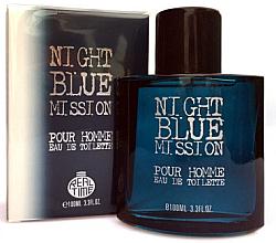 Düfte, Parfümerie und Kosmetik Real Time Night Blue Mission Pour Homme - Eau de Toilette