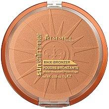 Düfte, Parfümerie und Kosmetik Wasserfester Bräunungspuder - Rimmel Sunshimmer Maxi Bronzer