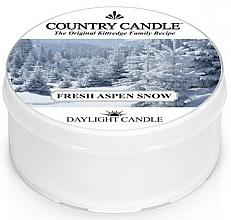 Düfte, Parfümerie und Kosmetik Duftkerze Fresh Aspen Snow - Country Candle Fresh Aspen Snow Daylight