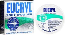 Düfte, Parfümerie und Kosmetik Bleichender und polierender Zahnpulver mit Minzgeschmack - Eucryl Toothpowder Freshmint