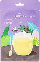 Düfte, Parfümerie und Kosmetik Feuchtigkeitsspendende und pflegende Gesichtsmaske mit Schneckenschleim-Extrakt und Honig - Skin79 The Honeyful Snail Mask