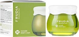 Düfte, Parfümerie und Kosmetik Beruhigende, stärkende und feuchtigkeitsspendende Gesichtscreme mit Avocadoextrakt - Frudia Relief Avocado Cream
