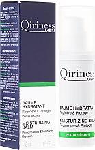 Düfte, Parfümerie und Kosmetik Feuchtigkeitsspendender Gesichtsbalsam für trockene Haut - Qiriness Men Moisturizing Balm