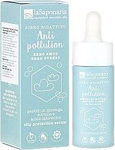 Düfte, Parfümerie und Kosmetik Schützendes Gesichtsserum gegen die Auswirkungen von Umweltverschmutzung - La Saponaria Anti-Pollution Serum