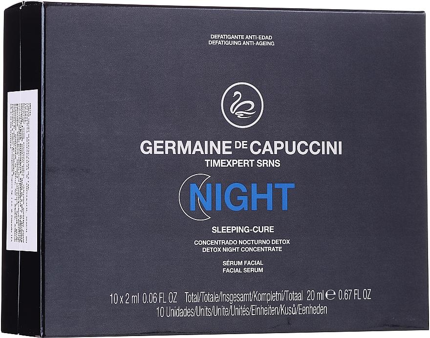 Detox-Konzentrat für die Nacht - Germaine de Capuccini Timexpert SRNS Night Sleeping-Cure