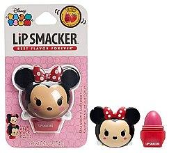Düfte, Parfümerie und Kosmetik Lippenbalsam mit Erdbeeren Geschmack - Lip Smacker Tsum Tsum Minnie Strawberry Lollipop