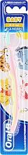 Düfte, Parfümerie und Kosmetik Kinderzahnbürste extra weich 0-2 Jahre Ferkel rosa-gelb - Oral-B Baby
