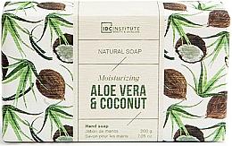 Düfte, Parfümerie und Kosmetik Natürliche feuchtigkeitsspendende Handseife mit Aloe- und Kokosduft - IDC Institute Moisturizing Hand Natural Soap Aloe Vera & Coconut