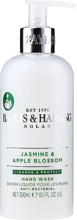 Antibakterielle flüssige Handseife Jasmine & Apple Blossom - Baylis & Harding Jasmine & Apple Blossom Anti-Bacterial Hand Wash