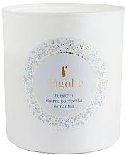 Düfte, Parfümerie und Kosmetik Duftkerze im Glas Bernstein, schwarze Johannisbeere, Osmanthus - Flagolie Soy Candle