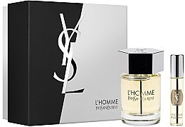 Düfte, Parfümerie und Kosmetik Yves Saint Laurent LHomme - Duftset (Eau de Toilette 100ml + Eau de Toilette Mini 10ml)