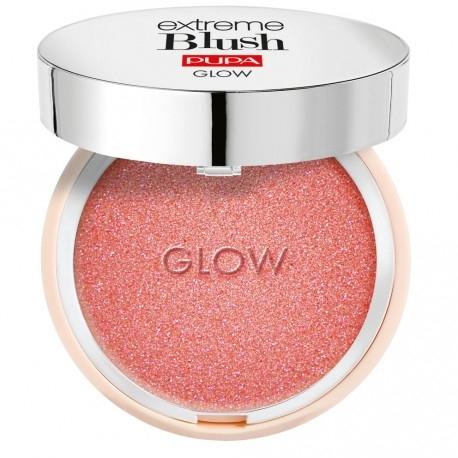 Gesichtsrouge mit glänzenden Pigmenten - Pupa Extreme Blush Glow