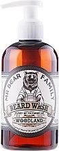 Düfte, Parfümerie und Kosmetik Sanftes Bartshampoo - Mr. Bear Family Beard Wash Woodland