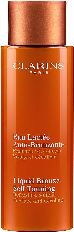 Selbstbräuner für Gesicht und Dekolleté - Clarins Liquid Bronze Self Tanning