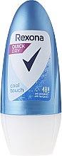 "Düfte, Parfümerie und Kosmetik Antiperspirant Roll-On Deodorant für Männer ""Stay Fresh Marine"" - Rexona Cool Touch Woman Deodorant Roll-On"