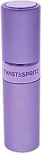 Düfte, Parfümerie und Kosmetik Nachfüllbarer Parfümzerstäuber helllila - Travalo Twist & Spritz Light Purple