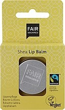 Düfte, Parfümerie und Kosmetik Lippenbalsam Vanille mit Sheabutter - Fair Squared Lip Balm Shea