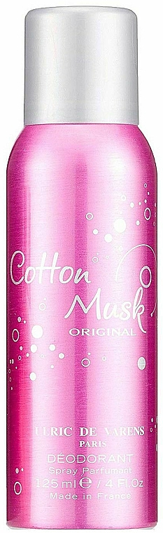 Urlic De Varens Cotton Musk Original - Parfümiertes Deospray