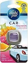 Düfte, Parfümerie und Kosmetik Auto-Lufterfrischer Tropische Früchte - Ambi Pur