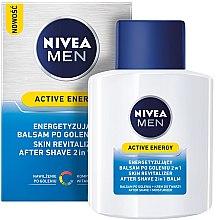 Düfte, Parfümerie und Kosmetik After Shave Balsam 2in1 - Nivea For Men Active Energy Skin Revitalizer After Shave Balm