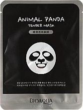 Düfte, Parfümerie und Kosmetik Zarte Tuchmaske für das Gesicht - Bioaqua Animal Panda Tender Mask
