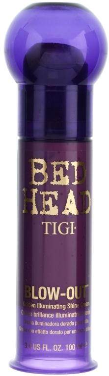 Haarcreme mit Goldpartikeln für brünettes und rotes Haar - Tigi Blow Out — Bild N1