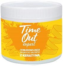 Düfte, Parfümerie und Kosmetik Haarmaske mit Keratin - Time Out