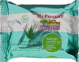 Düfte, Parfümerie und Kosmetik Bio Aloe Vera Körperseife mit Wassermelonen- und Melonenduft - Ma Provence Organic Soap