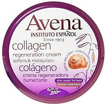 Regenerierende, aufweichende und feuchtigkeitsspendende Körpercreme mit Kollagen - Instituto Espanol Avena Collagen Cream