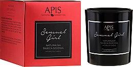 Düfte, Parfümerie und Kosmetik APIS Professional Sensual Girl Soy Candle - Natürliche Soja-Duftkerze