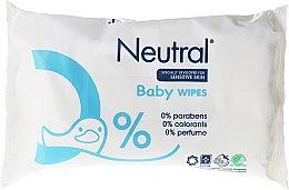 Düfte, Parfümerie und Kosmetik Sanfte und beruhigende Baby Feuchttücher - Neutral Baby Wet Wipes