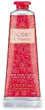 Düfte, Parfümerie und Kosmetik Handcreme - L'Occitane Roses et Reines Hand & Nail Cream