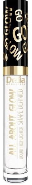 Flüssiger Highlighter - Delia All About Glow Shape Defined Liquid Highlighter