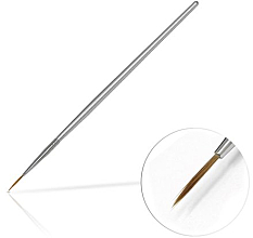 Düfte, Parfümerie und Kosmetik Schmuckpinsel 10mm Silver - Silcare Brush 02