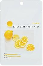 Düfte, Parfümerie und Kosmetik Revitalisierende Tuchmaske für das Gesicht mit Provitamin B5 - Eunyu Daily Care Sheet Mask Vitamin