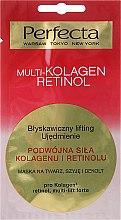 Düfte, Parfümerie und Kosmetik Gesichts-, Hals- und Dekolletémaske mit Liftingeffekt - Perfecta Multi-Kolagen Retinol