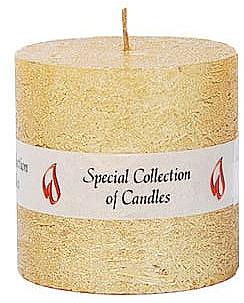 Naturkerze Golden Glow 7,5 cm - Ringa Golden Glow Candle
