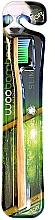 Düfte, Parfümerie und Kosmetik Zahnbürste weich Slim grün-blau - Woobamboo Toothbrush Slim Soft