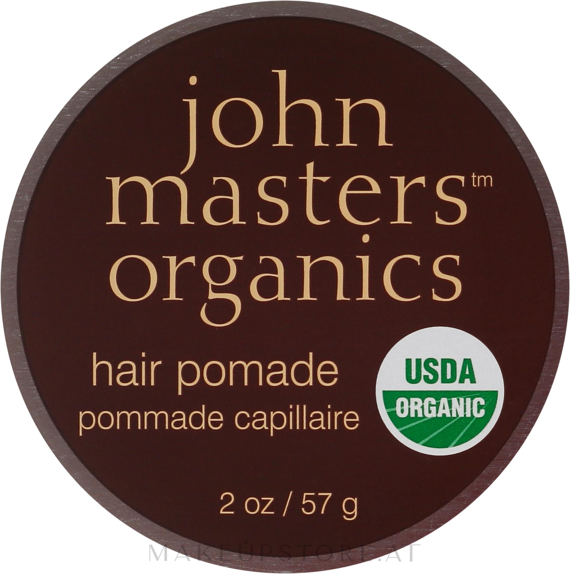 Anti-Frizz Haarpomade mit Glanz-Effekt - John Masters Organics Hair Pomade — Bild 57 g