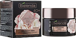 Düfte, Parfümerie und Kosmetik Anti-Falten Gesichtscreme mit Kamelienöl 40+ - Bielenda Camellia Oil Luxurious Anti-Wrinkle Cream 40+