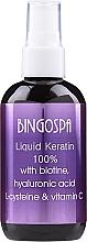 Düfte, Parfümerie und Kosmetik Flüssiges Keratin 100% mit Biotin - Bingospa Liquid 100% Keratin with Biotine
