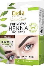 Düfte, Parfümerie und Kosmetik Henna für die Augenbrauen - Delia Cosmetics Eyebrow Expert Brow Henna