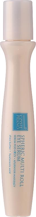 Roll-On Augenserum mit Lifting-Effekt - Czyste Piekno Active Lifting Eye Serum Cream Massaging Roll On