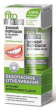 Düfte, Parfümerie und Kosmetik Zahnpulver gegen blutendes Zahnfleisch - Fito Kosmetik