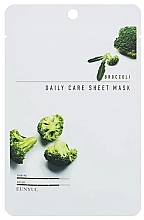 Düfte, Parfümerie und Kosmetik Verjüngende Tuchmaske für das Gesicht mit Brokkoli-Extrakt - Eunyul Daily Care Mask Sheet Broccoli