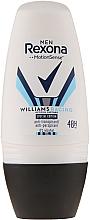 "Düfte, Parfümerie und Kosmetik Antiperspirant Roll-on Deodorant für Männer ""Willams Racing"" - Rexona MotionSense Men Deodorant Roll"
